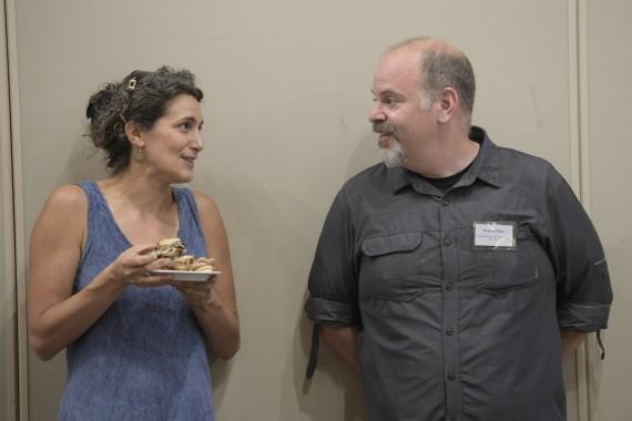 Sara Gavison and Andrew Sloin